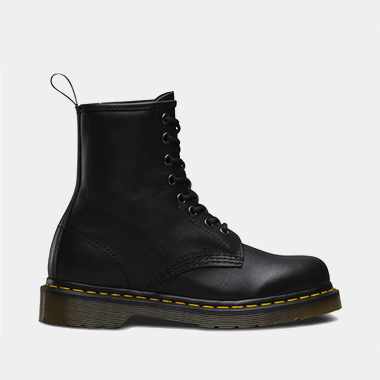 Dr. Martens 1460 Nappa Boot in Black Noir
