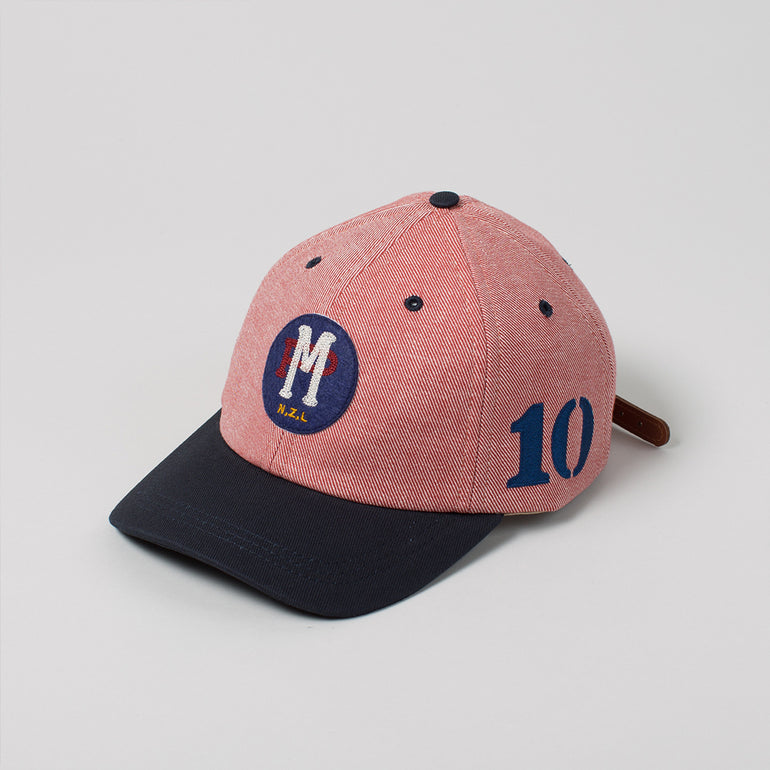 Moreporks NZL 6 PANEL CAP - Red