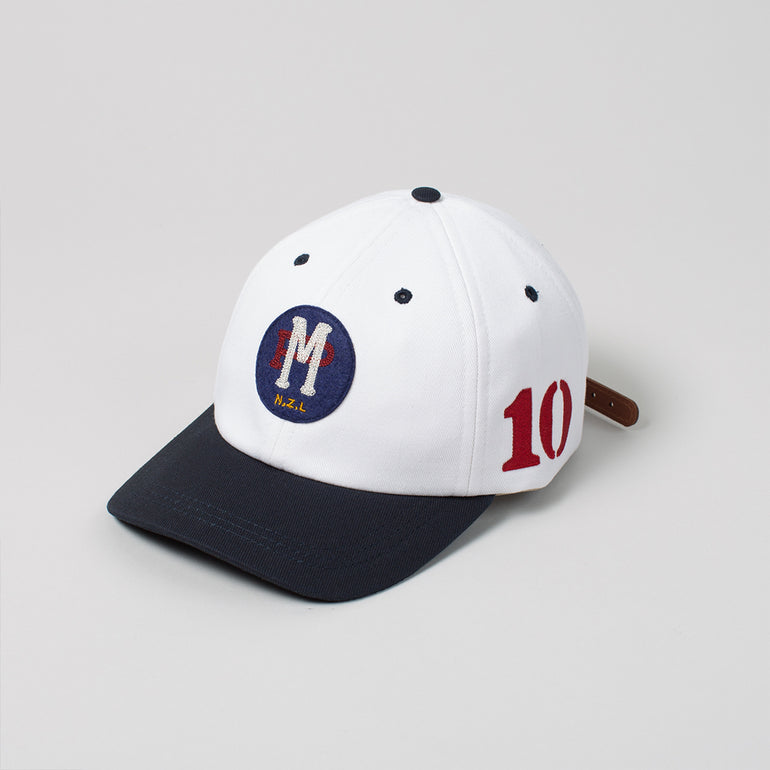 Moreporks NZL 6 PANEL CAP - White