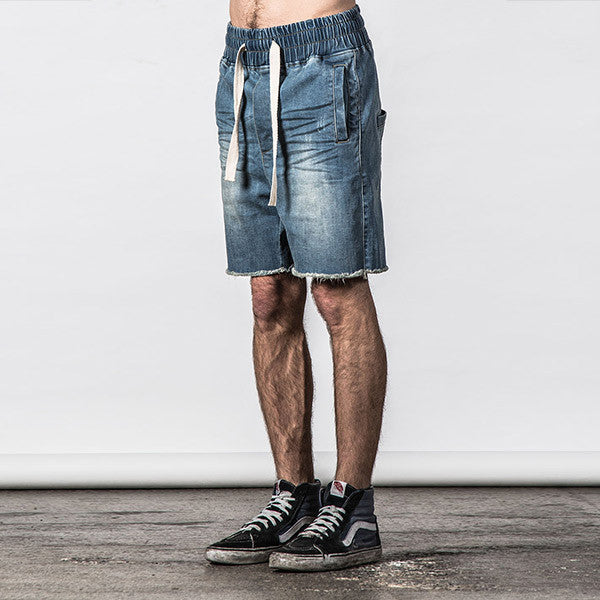 Thing Thing Steady Denim Short in Light Wash