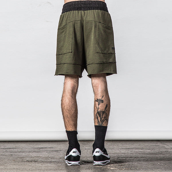 Thing Thing Raw Ronin Jersey Short (Army Slub)