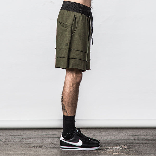 Thing Thing / Raw Ronin Jersey Short - Army Slub