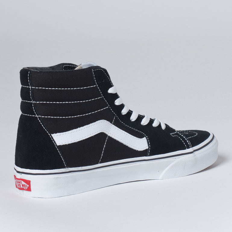 Vans Sk8 Hi Shoes in Black