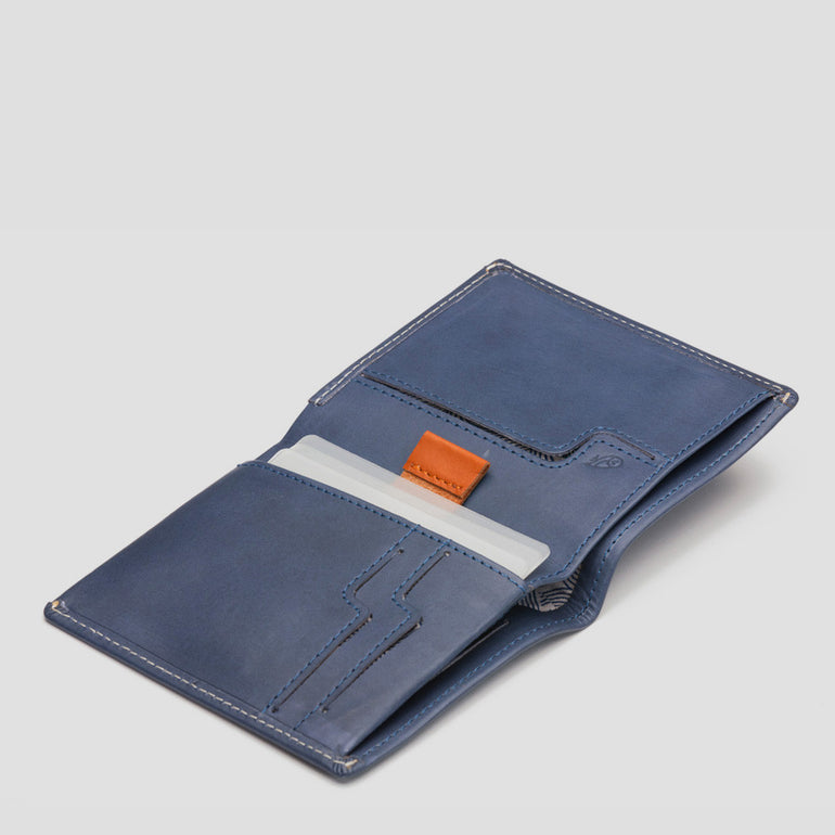 Bellroy Note Sleeve Wallet in Blue Steel
