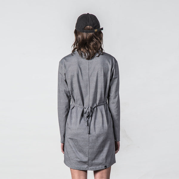 Thing Thing Taken Tee Dress Black Stripe