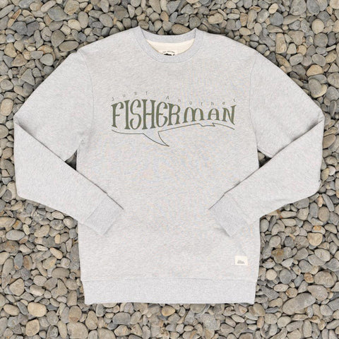 Just Another Fisherman Adventure Fish Crew - Grey Marle
