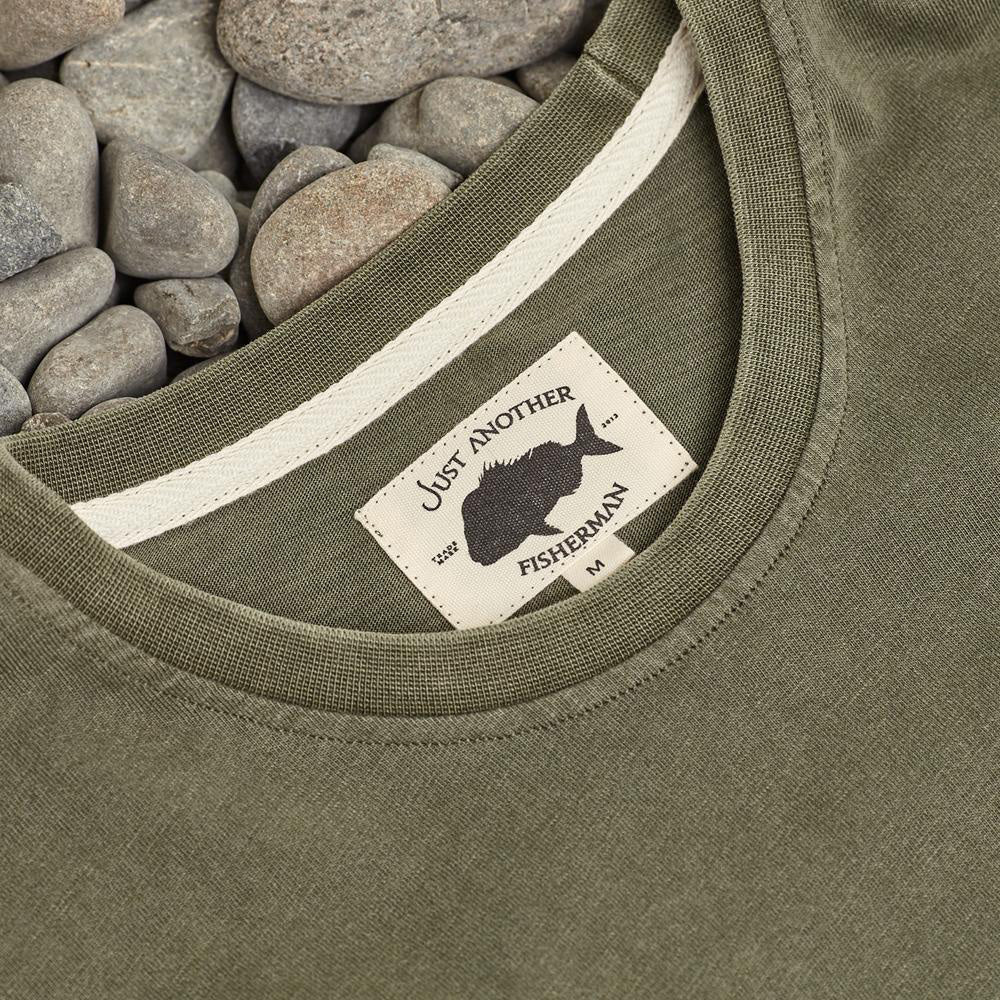 Just Another Fisherman Adventure Fish Tee in Khaki