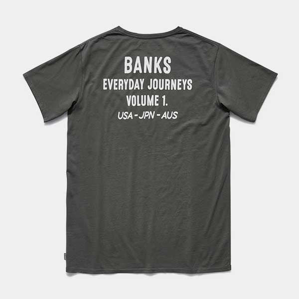 BANKS Fame Tee Shirt in Combat