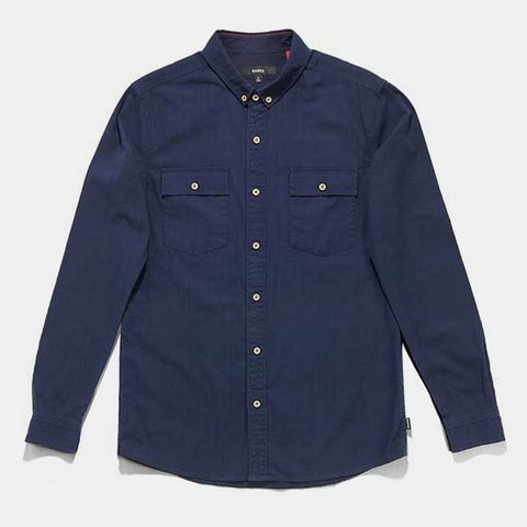 BANKS Military Shirt - Dirty Denim