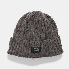 BANKS Trademrk Beanie - Heather Black
