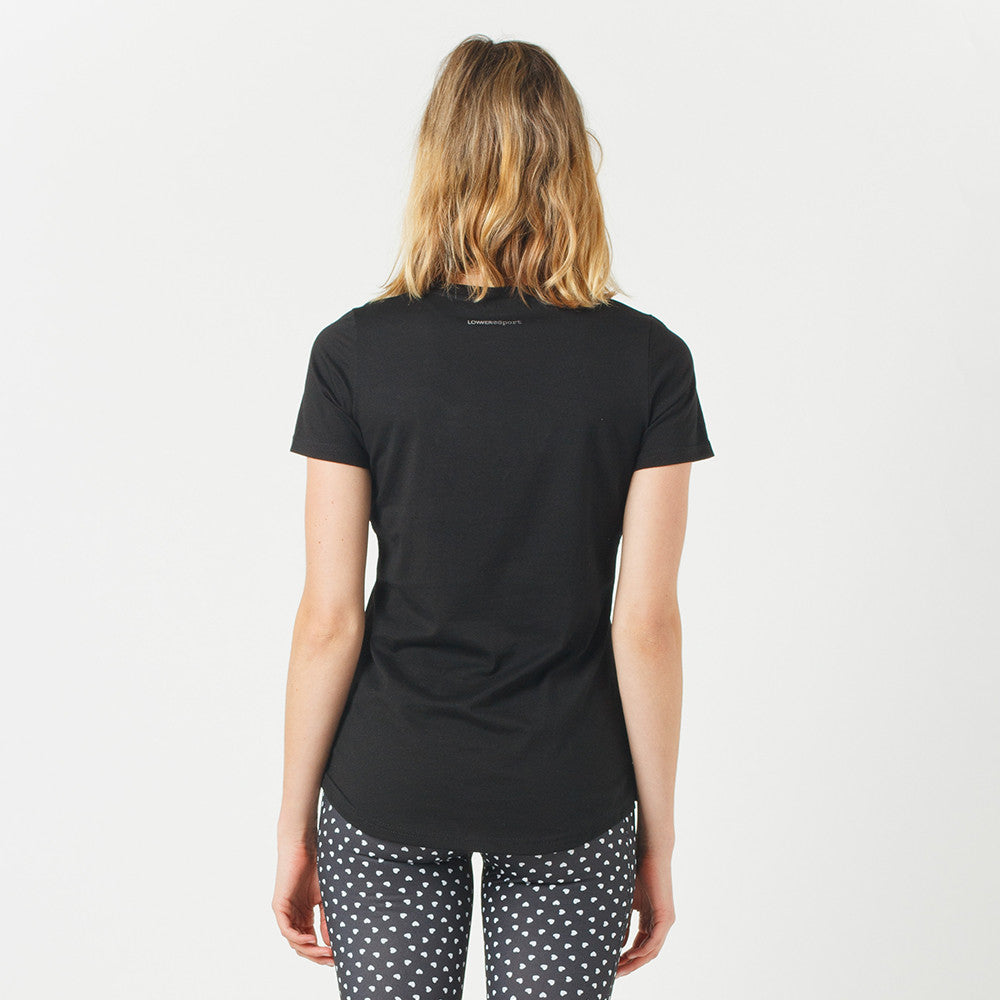 Lower Sport Action Tee / Low Dots (reflective) Black