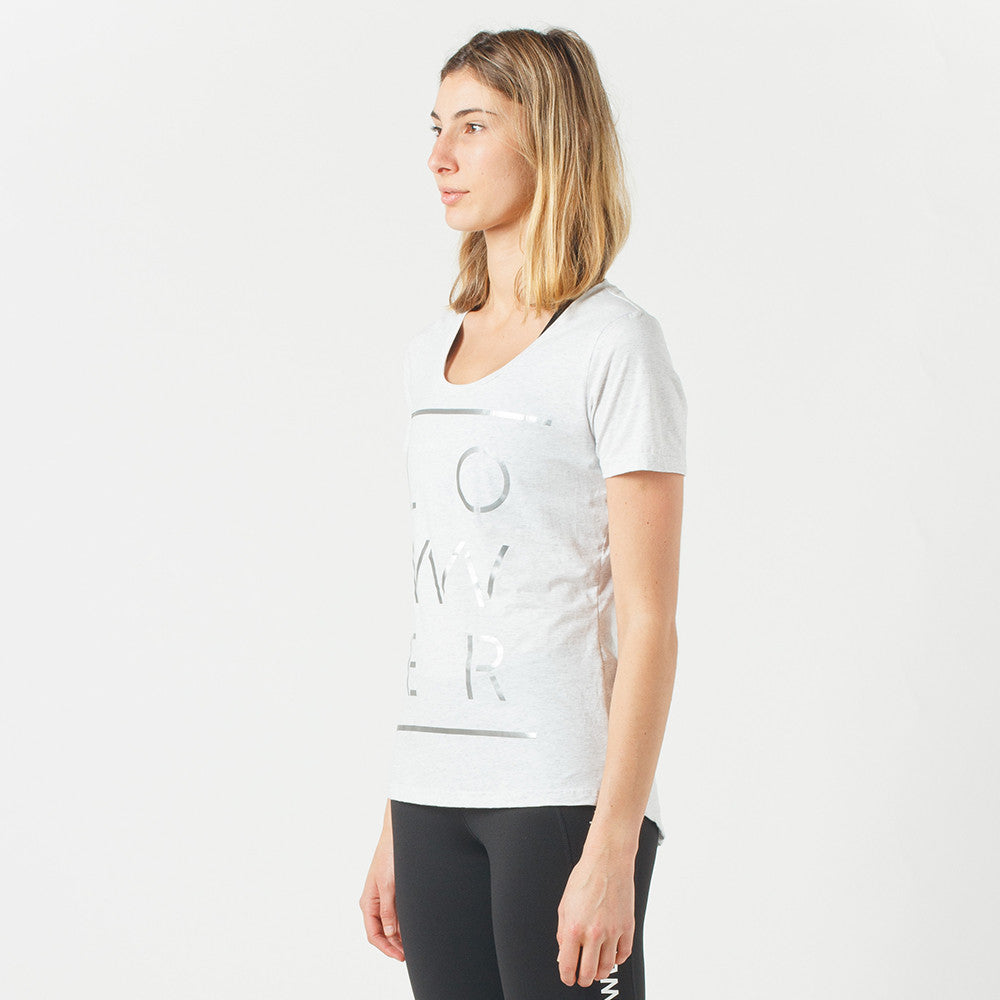 Lower Sport Action Tee / Motive (reflective) in Silver