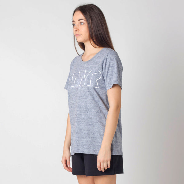 Grewy Marle Lower Active Tee / Offset - Embroidery