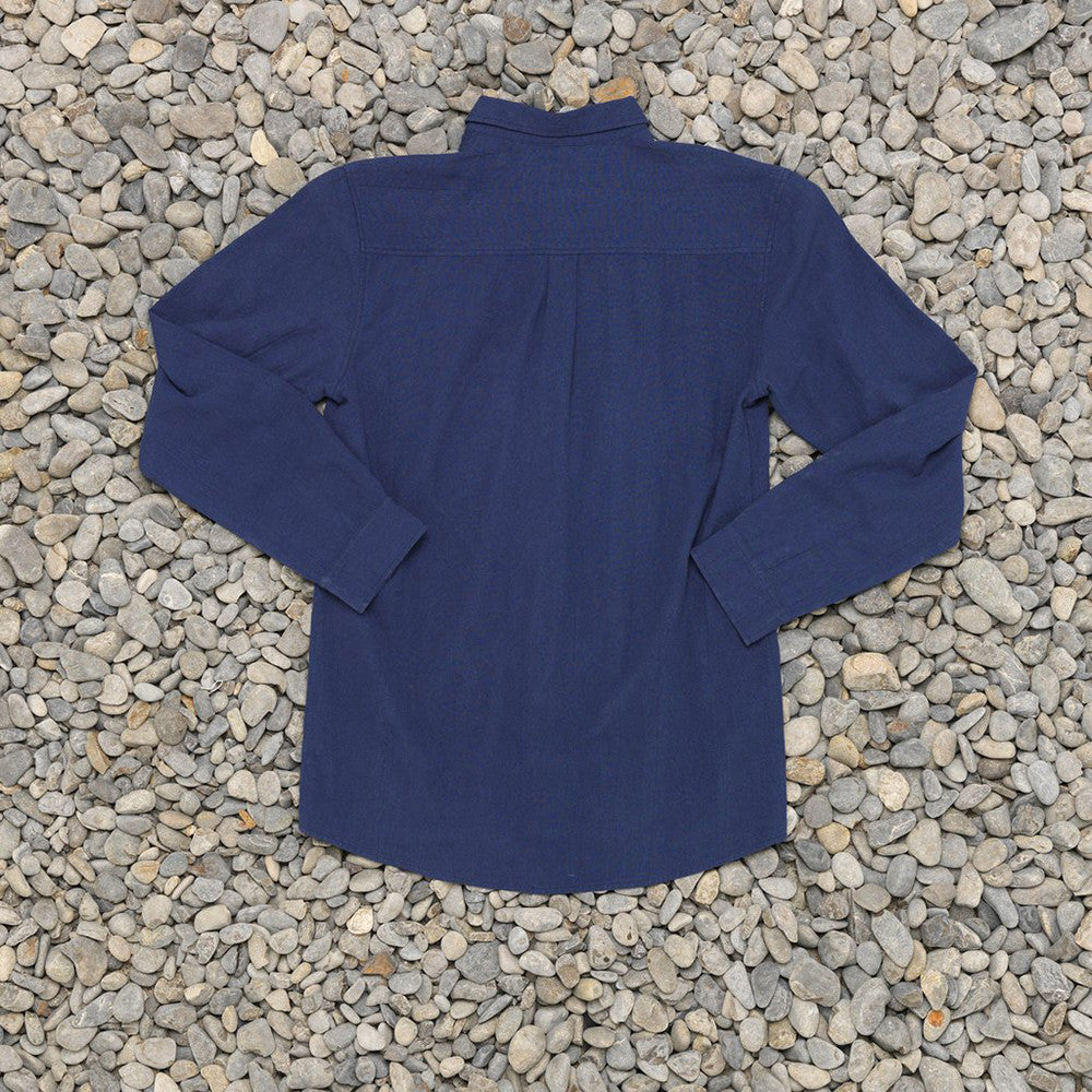 Just Another Fisherman Anchorage Shirt in Navy