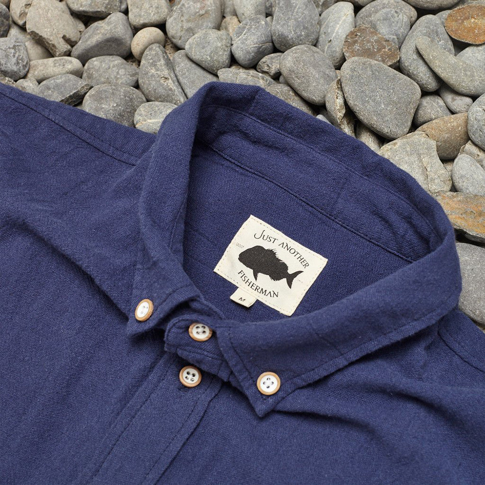 Just Another Fisherman Anchorage Shirt Navy