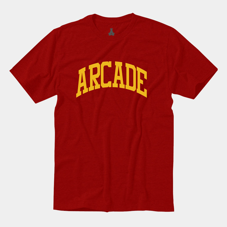 Arcade Arch Tee - Red