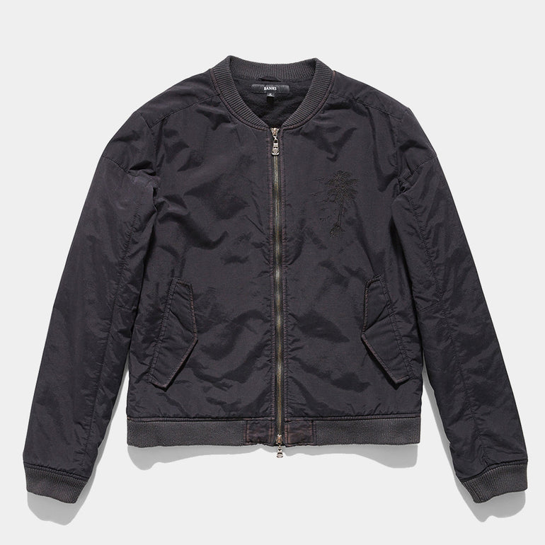 BANKS Off Shore Jacket - Dirty Black