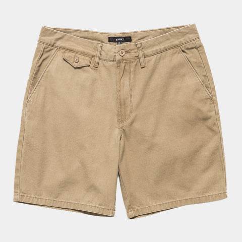 BANKS Staple Walkshort - Golden Deer