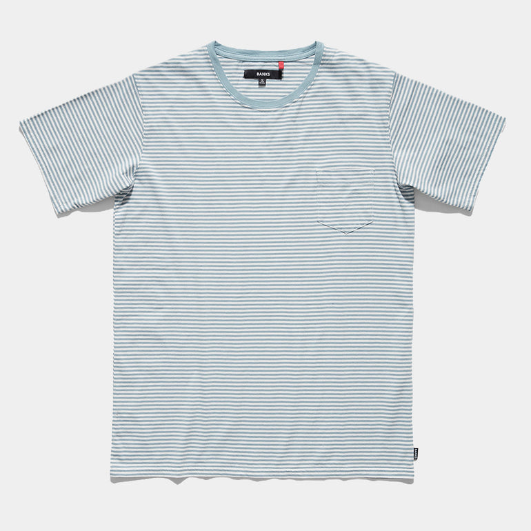 BANKS Step T-Shirt - Glacier Blue
