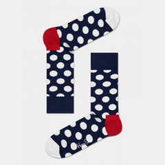 Happy Socks Big Dot - Red/White/Navy
