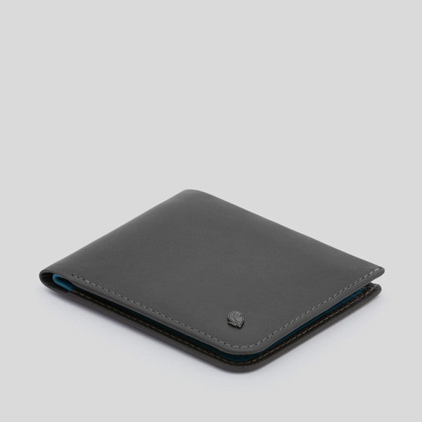Bellroy Hide & Seek Wallet - Charcoal Arctic Blue