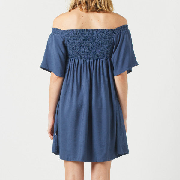 Now & Then / Billie Dress (Navy)