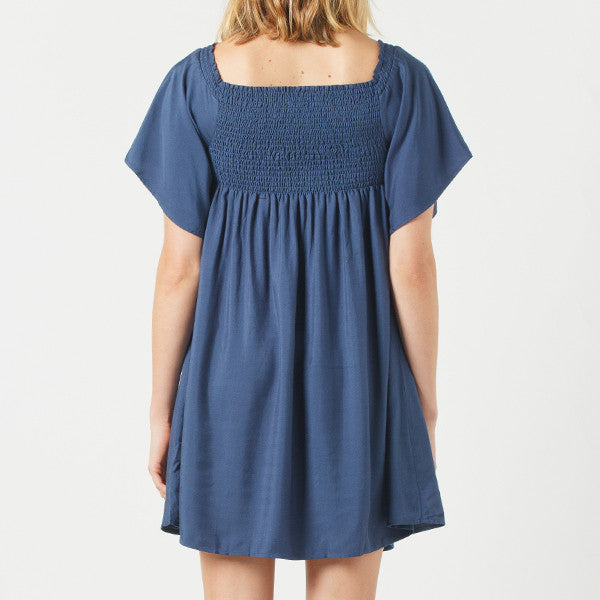Now and Then / Billie Dress - Navy