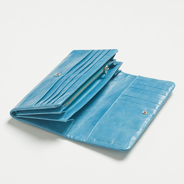 Five Each Dome Wallet (Blue)