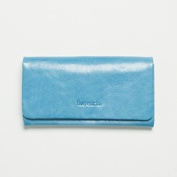 Five Each Dome Wallet - Blue