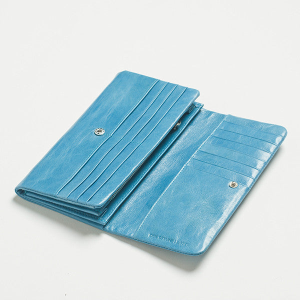 Five Each Dome Wallet in Blue