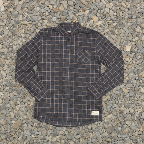 Just Another Fisherman Boatyard Shirt - Charcoal Check