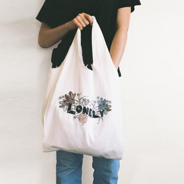 Lonely / Tote - Floral