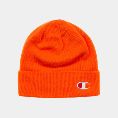 Champion C Life Logo Beanie - Orange