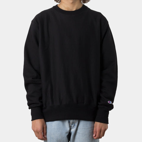 Champion Reverse Weave Crew - Black