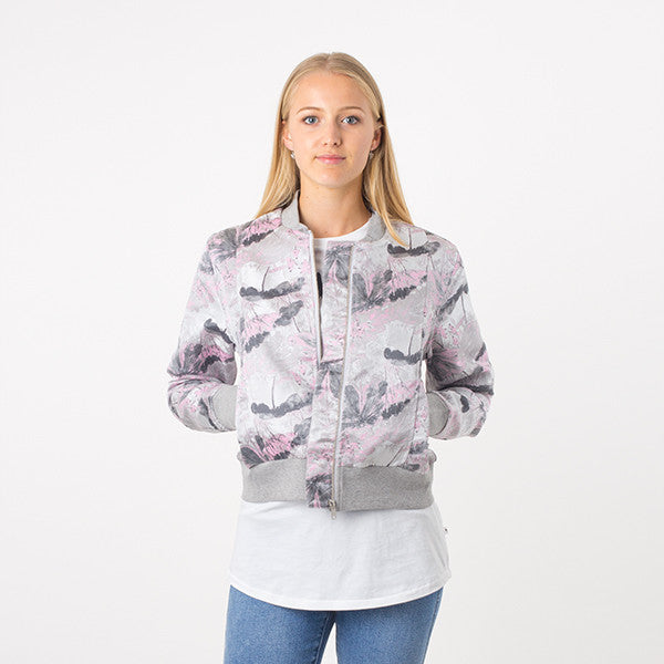 Federation Close Bomber - Grey/Pink