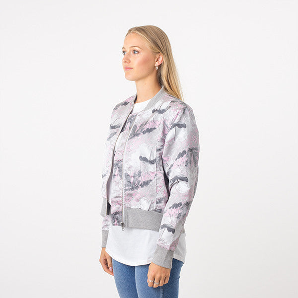 Federation Close Bomber (Grey/Pink)