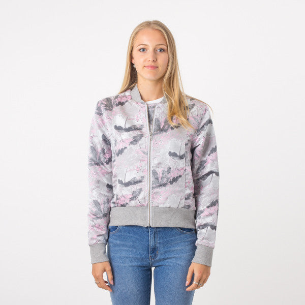 Federation Close Bomber Grey/Pink