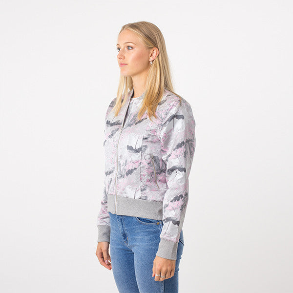 Federation / Close Bomber - Grey/Pink