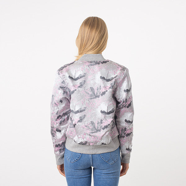 Federation Close Bomber - Grey Pink