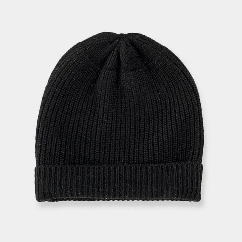 Commoners Merino Beanie - Black