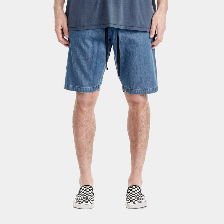 Commoners Chambray Walk Short - Vintage Blue
