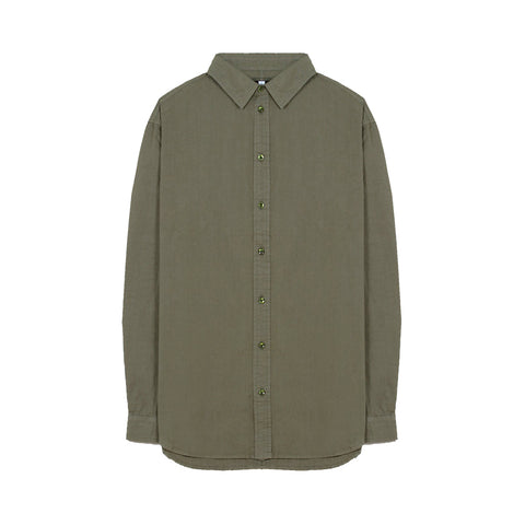 Commoners Classic Poplin Shirt - Fern