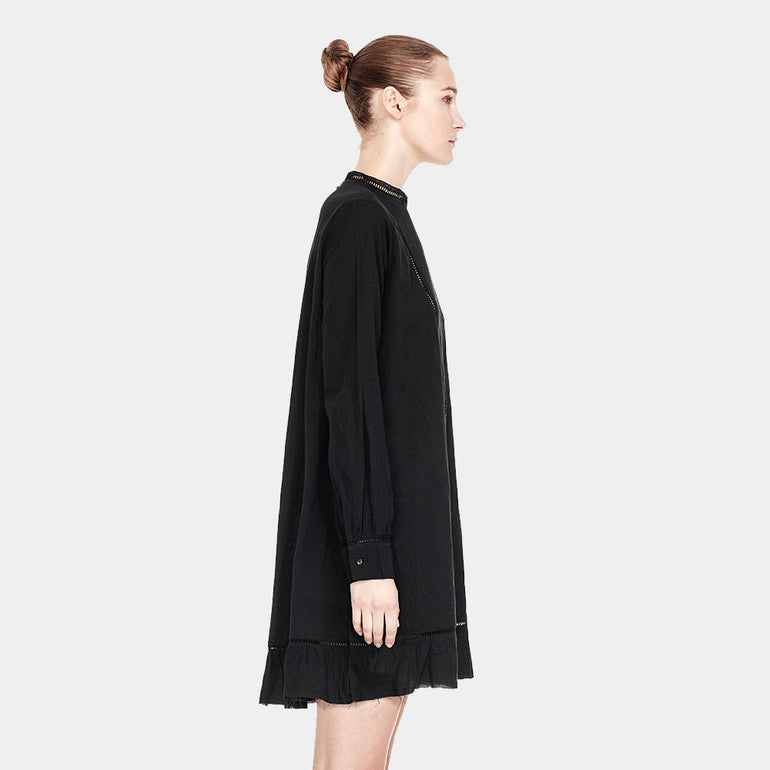 Commoners High Neck Dress in Black