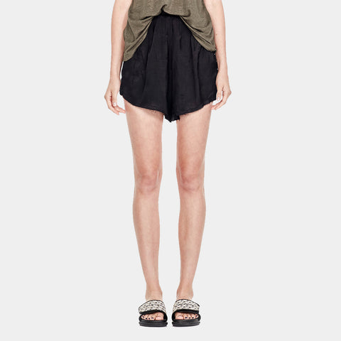 Commoners Slip Short - Black
