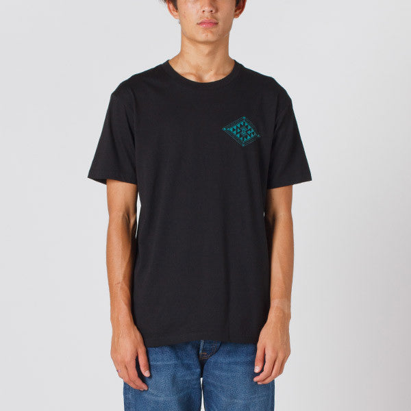 Damaged Goods Zine Baha Tee - Black