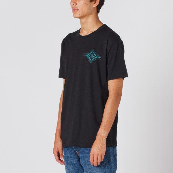 Damaged Goods Zine Baha Tee in Black