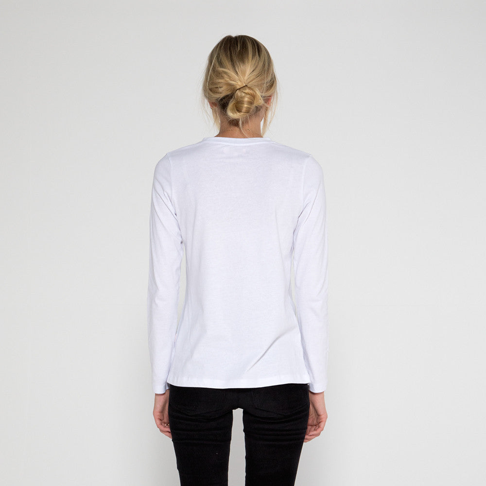 Now & Then Daily L/S Tee / Janet White