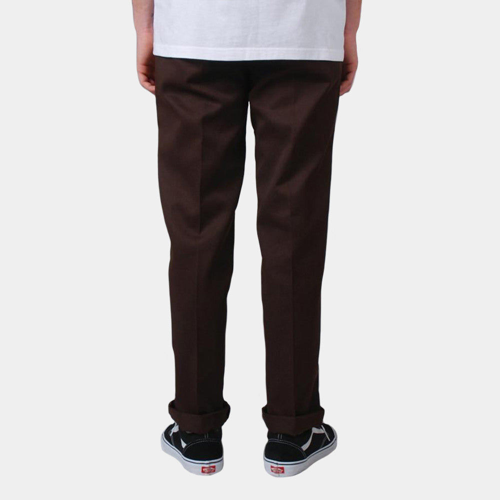 Dickies Slim Fit Work Pant Brown