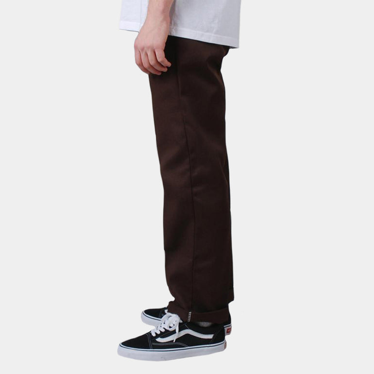 Dickies Slim Fit Work Pant in Brown