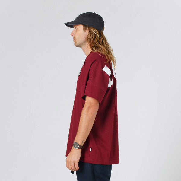 Lower Drop Tee / LOW (Maroon)